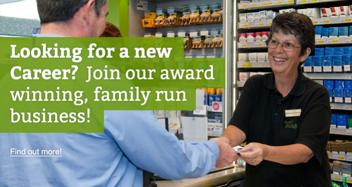 Looking for a new Career? Join our award winning, family run business!