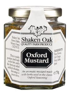 Oxford Mustard - Shaken Oak Mustards