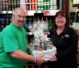 April 2016 Platinum Club Prize Draw Winner