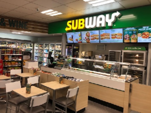 Brize Subway looking Fresh