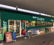 Brize to go Budgens in November