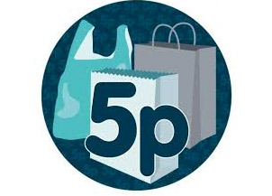 Carrier bag Levy from Monday 5th October