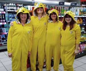 Doing our bit for Children in Need