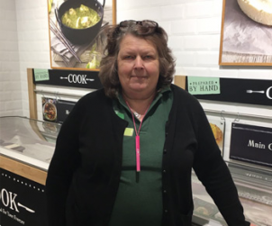 Employee of the Month: Christine Clarke (Three Mile Cross)