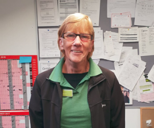 Employee of the Month: Elaine Brown (Three Mile Cross)