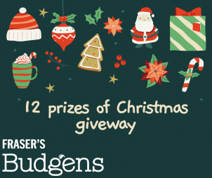 Facebook 12 Prizes of Christmas