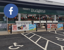 Facebook at Three Mile Cross