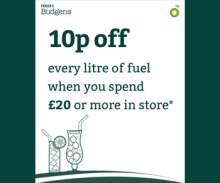 Fill up your basket and fill up your tank for less this Christmas!