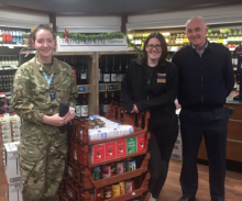 Flying high with Carterton Food Bank