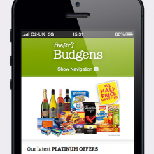 Fraser's Budgens joins the 21st Century!