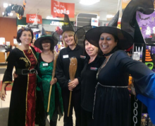 Fraser's Retail get's dressed up for Halloween!