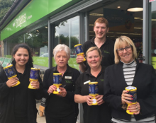 Frasers Budgens are top fund raisers for the second year running