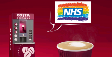 Free Costa Coffee for NHS and Emergency Service Workers