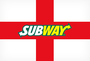Get 10% off Subway on St. Georges Day!