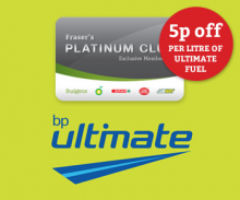 Get 5 pence off Ultimate Fuel – Everyday