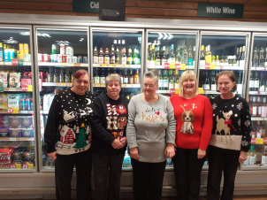 Getting in the Christmas Spirit On Christmas Jumper day!