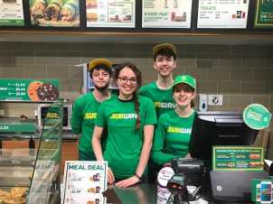 Hats Off to Subway Marlborough