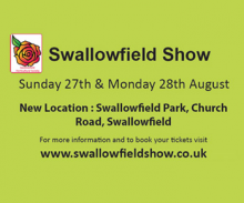 Headline sponsors of Swallowfield show