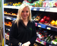 Februray Employee of the Month: Lindsay Simmons (Marlborough)