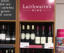 Lower Earley stocking Laithwaites Wines!
