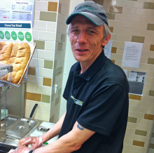 May Employee of the Month: Hugh Edwards (Yarnton Subway)