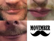 Movember takes over the top lip!