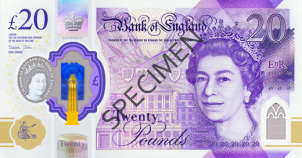New £20 Note now in circulation!