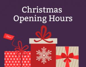Store Christmas Opening Hours - Fraser's Budgens