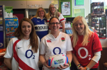 Rugby Raffle flying high for Wilshire Air Ambulance