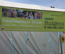 Sponsoring the Swallowfield Show