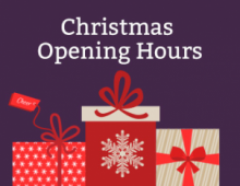 Store Christmas Opening Hours