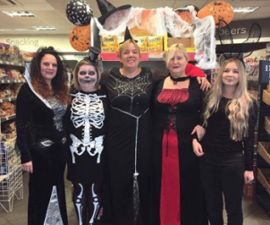 Stores get Spooky for Halloween!