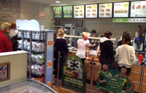 Subway opening offer goes down a storm at Marlborough