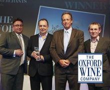 The Oxford Wine Company wins 'Best Independent Wine Wholesaler of the Year 2014'