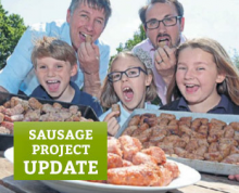 The Sausage Project makes a 'banger' in the local Press!