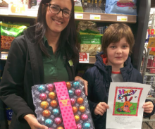 Three Mile Cross' Easter Colouring Competition