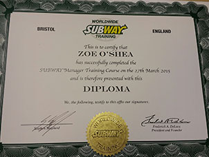 Well done to Zoe and Sophie at Subway HQ!?v=03052018