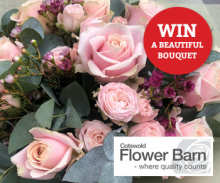Win a Beautiful Bouquet from Cotswold Flower Barn