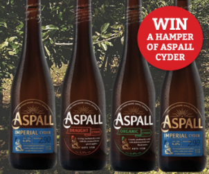 Win a hamper of Aspall Cyder
