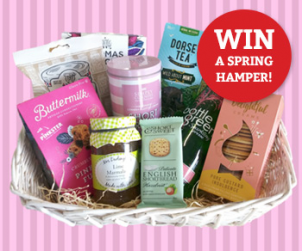 Win a lovely Spring-time hamper from Holleys!