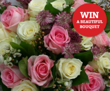Win a Romantic Bouquet from Cotswold Flower Barn