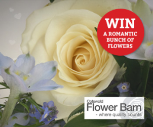 Win a romantic bunch of flowers from Cotswold Flower Barn?v=03052018