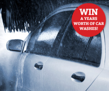 Win a years worth of Car Washes!