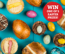 Win One of 5 Easter Prizes!