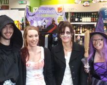 Yarnton and Marlborough get Spooky!