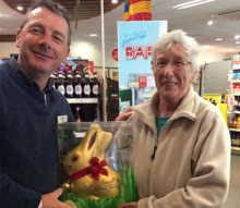 Yarnton Easter Raffle has us hopping!