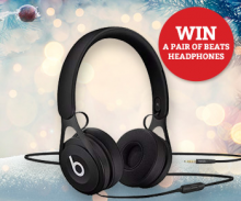 You deserve to win these Beats earphones!
