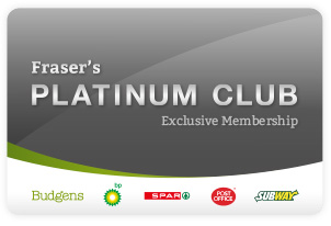 The Fraser's Budgens Platinum Club